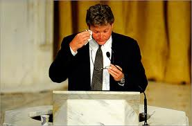 Teddy Kennedy Jr. Eulogizing His Father