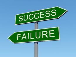Roads Leading To Success And Failure