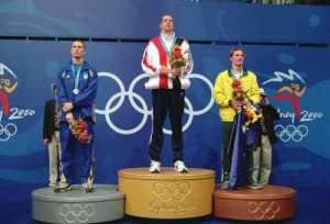 Olympic Medal Stand