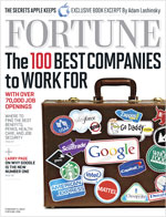 2012 100 Best Company's To Work For Cover