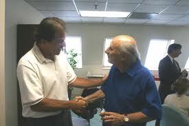 A Caring Handshake