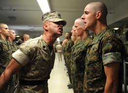 Fear Inducing Drill Sergeant