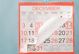 The Month Of December